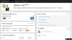 Recharge Your Mobile and Cell Phone in 100+ Countries With Bitcoin: Spend-a-Bit Launches Public Beta