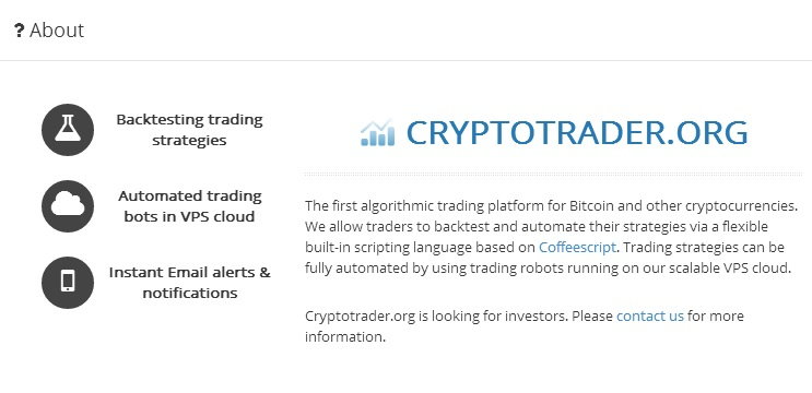 Automate Bitcoin Bot Trading on MtGox, BTC-e and BitStamp with Industry Grade Bitcoin Trading Platform Cryptotrader.org