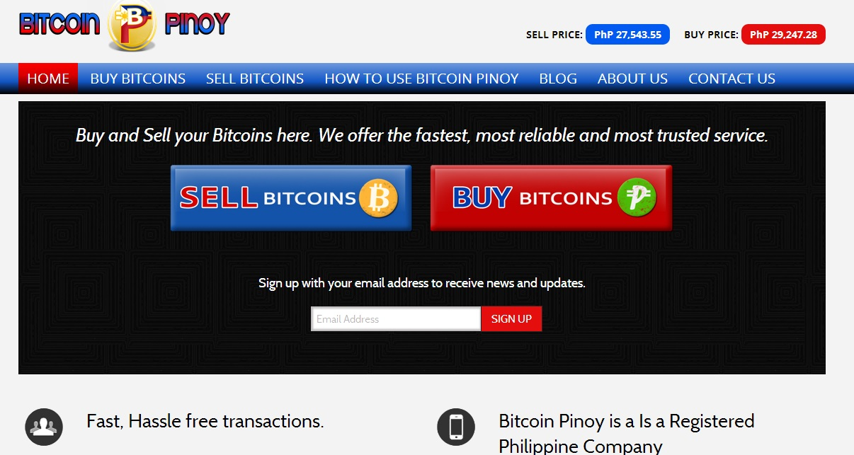 Bitcoin Pinoy Screenshot