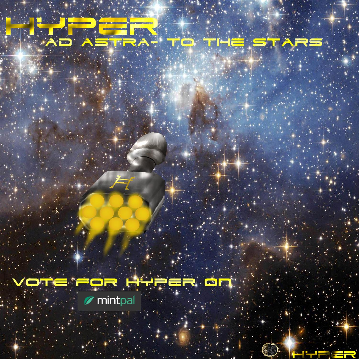 HYPER to the stars Ad Astra