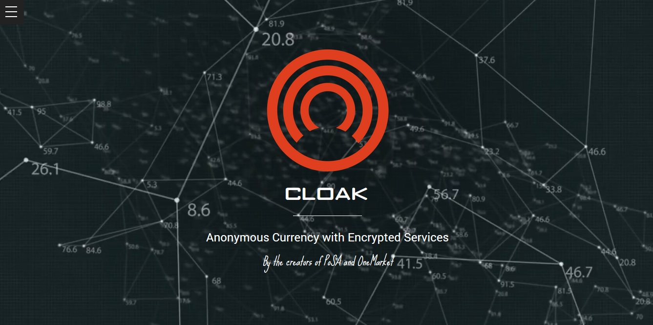 Cloakcoin Promises The Holy Grail of Cryptocurrency: Trustless Anonymity