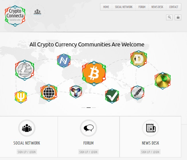Crypto Connecta Screenshot