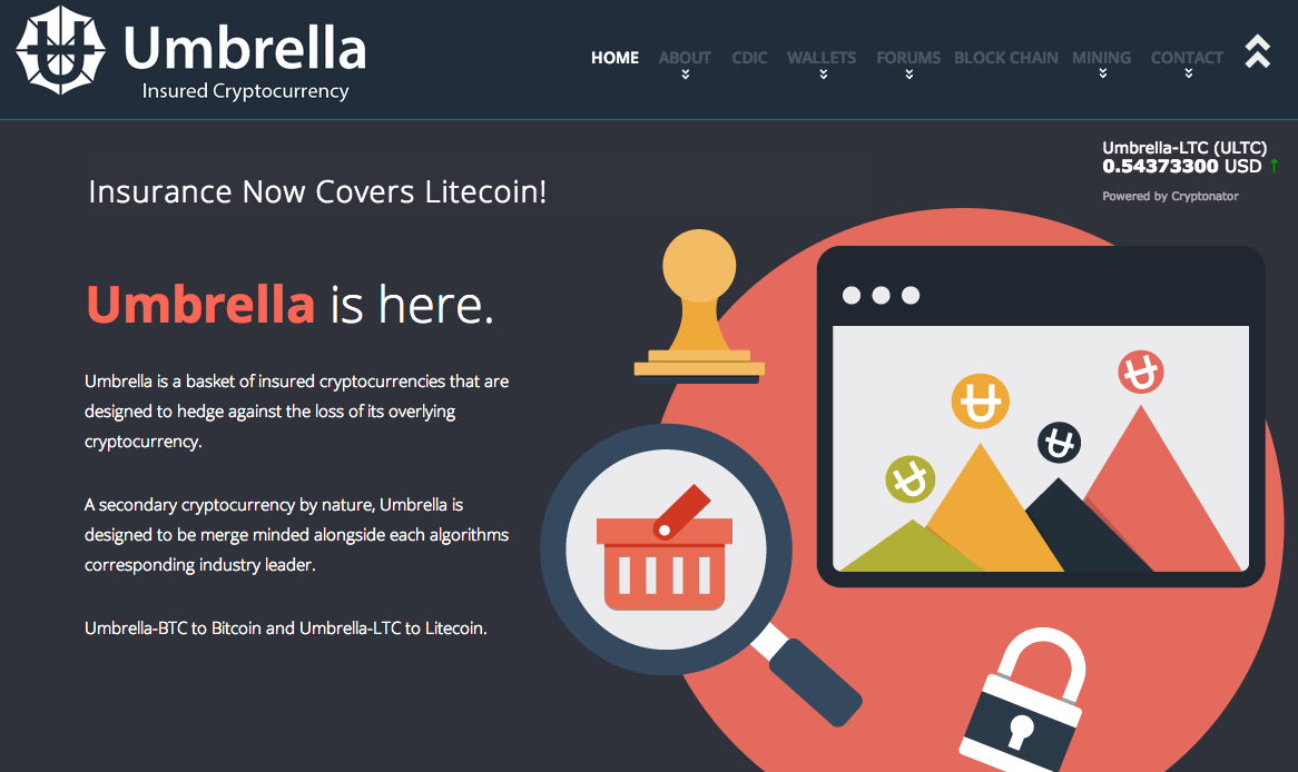 Umbrella Holdings Screenshot