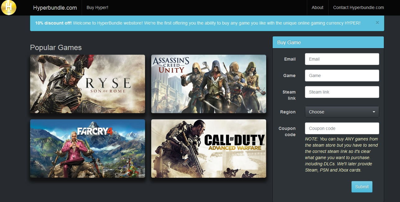 Hyperbundle Screenshot