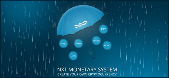 NXT Monetary System Infrastructure Allows Creation of New Cryptocurrencies On NXT Blockchain