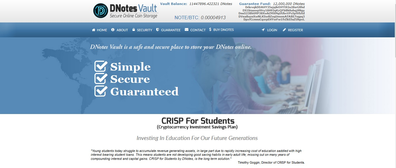 Digital Currency Student Debt Solutions Offered by Bitcoin Alternative DNotes With ...
