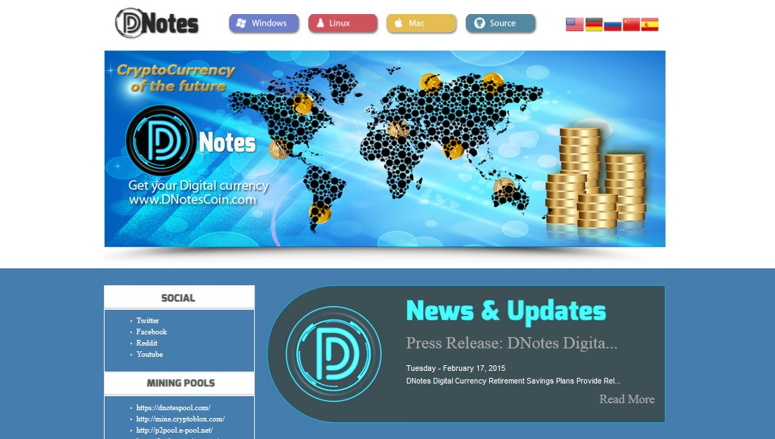 DNotes Live on Cryptsy For Bitcoin Trading, Growth of Ecosystem With World's First Cryptocurrency Savings Accounts Continues Unabated