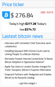 Bitcoinist Launches Bitcoin News and Price Widgets for Websites