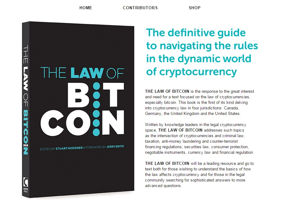 THE LAW OF BITCOIN Screenshot