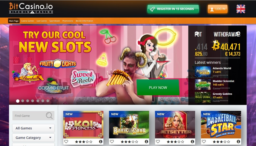Bitcasino.io Continues Slots Expansion With 100 Millionth Spin