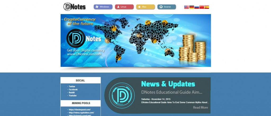 Bitcoin Alternative DNotes Announces Company Launch and Book for Small Business Owners in 2016