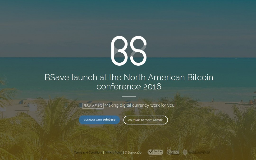 BSAVE Launches Next Generation Bitcoin Savings Account at North American Bitcoin Conference in Miami