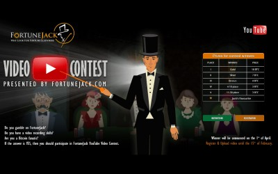 Win up to 10 Free BTC in FortuneJack's YouTube Video Contest