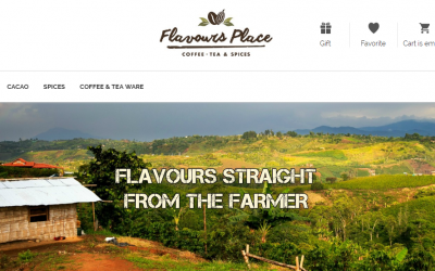 Flavours Place, an Online Marketplace to Buy Coffee and Tea with Bitcoin