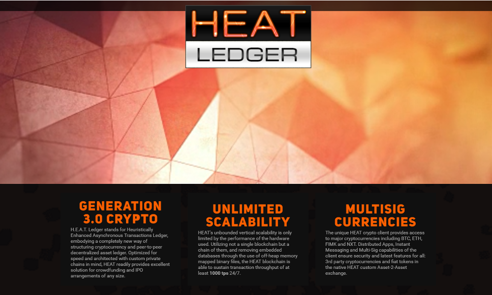 The Decentralised Conglomerate Launches HEAT – Blockchain-Based Crowdfunding 3.0 Platform to Support Startups