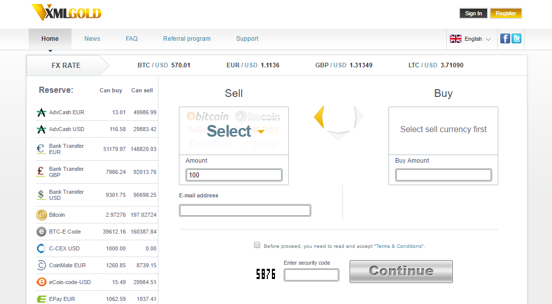 Reputable Cryptocurrency Exchange XMLGold Offers Great Deals to its Bitcoin Customers