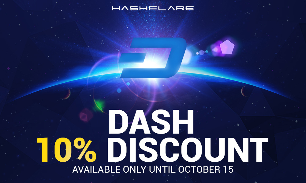 Price Drop on DASH, BTC, ETH and LTC Cloud Mining by HashFlare