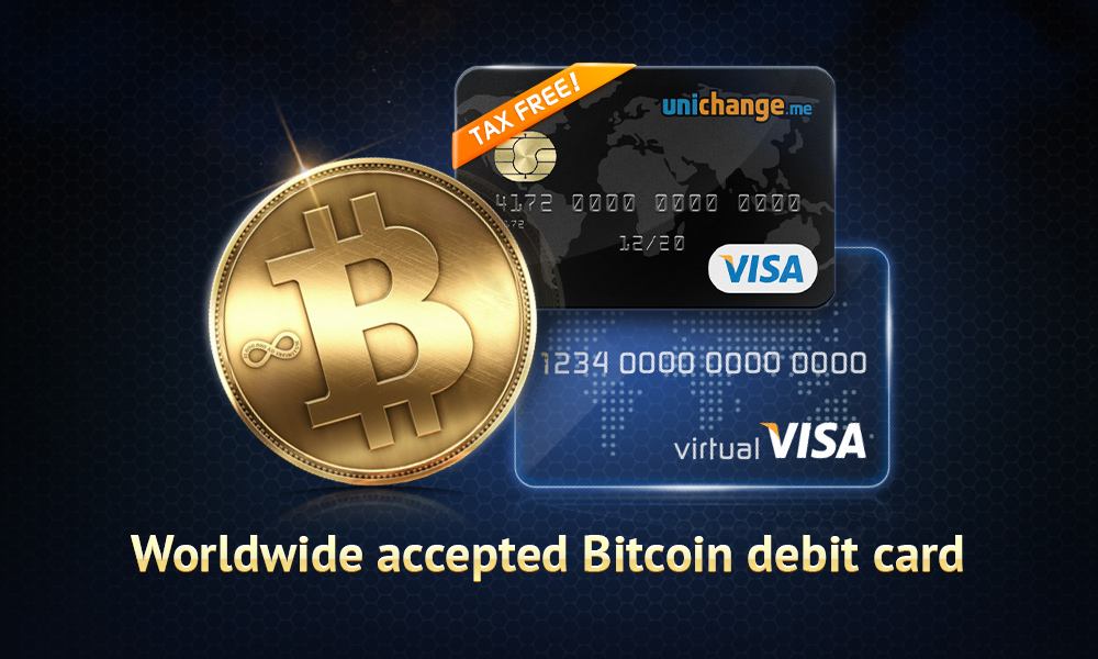 It Is Now Much Easier to Order Bitcoin Cards on Unichange.me