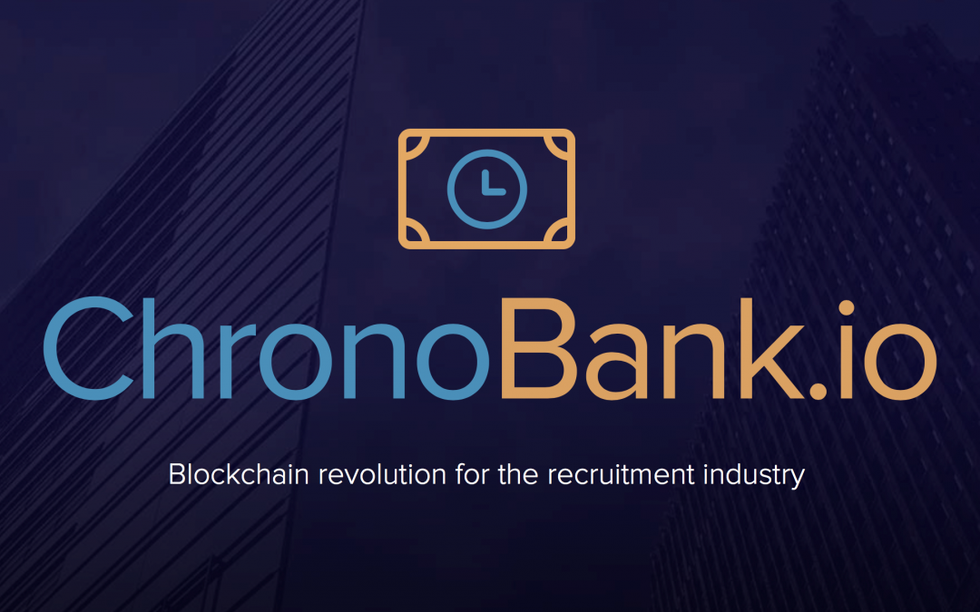 ChronoBank Launches New Cryptocurrency Based Recruitment Website While Preparing for December ICO