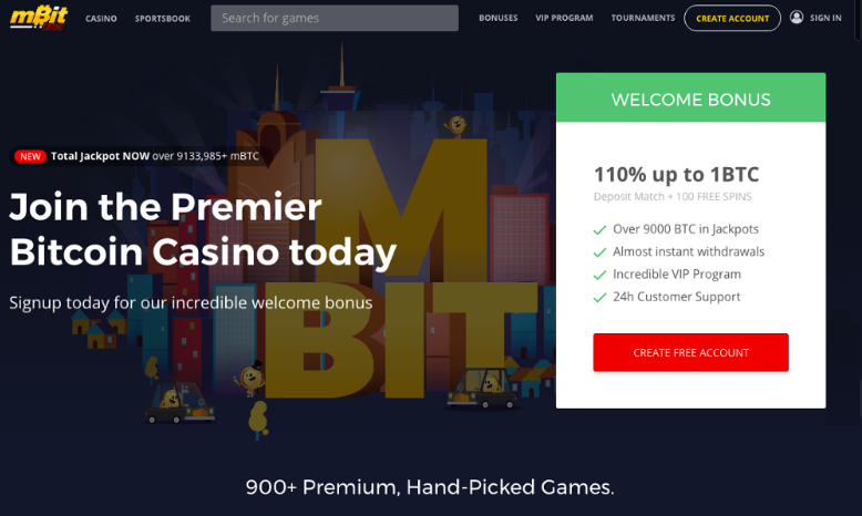 mBit Casino, a Revolutionary New Bitcoin Gaming Experience