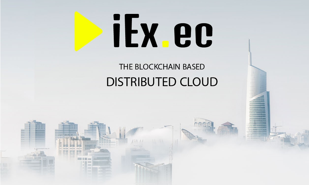 iEx.ec Announces Its Cryptocurrency Crowdsale to Launch the First Distributed Cloud Platform