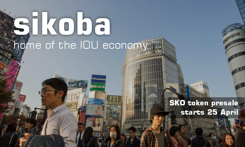 Sikoba, a Decentralized P2P IOU Platform on Blockchain, Launches Presale ahead of Token ICO