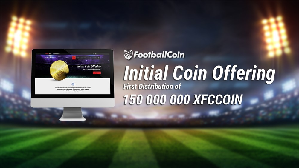 FootballCoin Announces the ICO of its XFC Cryptocurrency