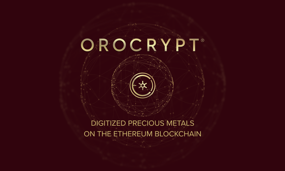 Orocrypt Offers Digitized Precious Metals on Ethereum Blockchain, ICO Underway