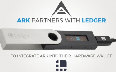 ARK to be available on Ledger Hardware Wallet Starting July 28, 2017