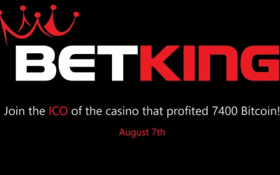 Online Cryptocurrency Casino BetKing Set to Relaunch the Platform Following the ICO, Starting August 7, 2017