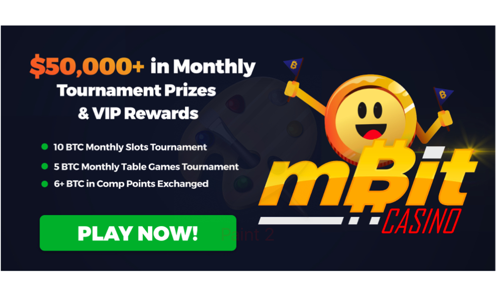 MBit Casino is Paying $50,000+ in Monthly Tournaments & VIP Rewards