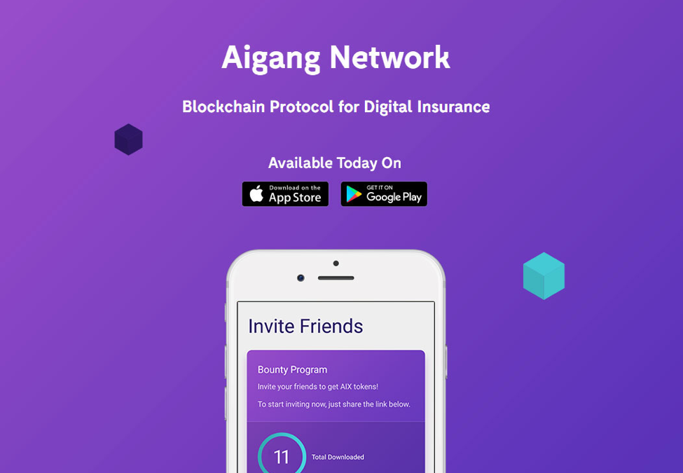 Earn Tokens by Inviting Friends: Aigang Announces Bounty Program for Demo Apps