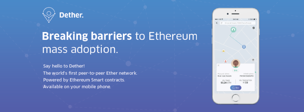Dether, World's First P2P Ether Network to Be a Game Changer for Ethereum Mass Adoption