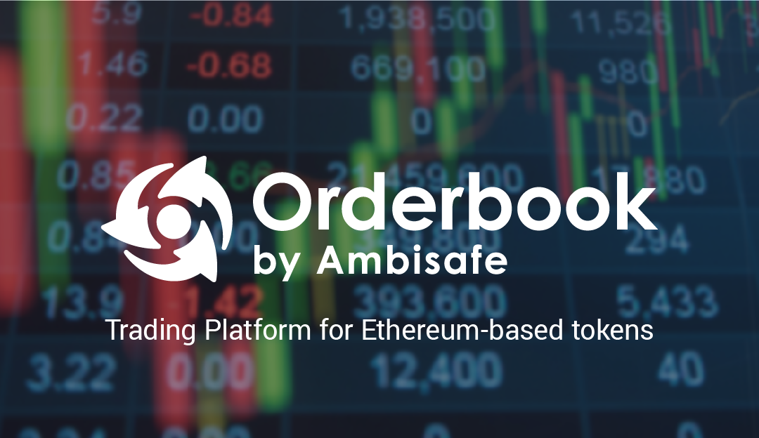 Orderbook Launches Its First Full Scale ICO via Decentralized Token Exchange