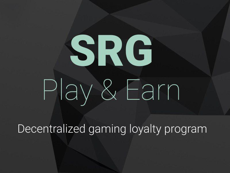 SRG Announces Token Sale for the First Decentralized Gaming Loyalty Program