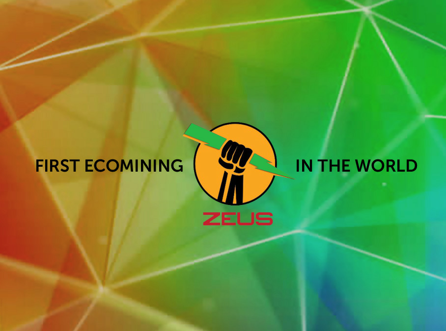 ZEUS: The First EcoCryptoMining in the World