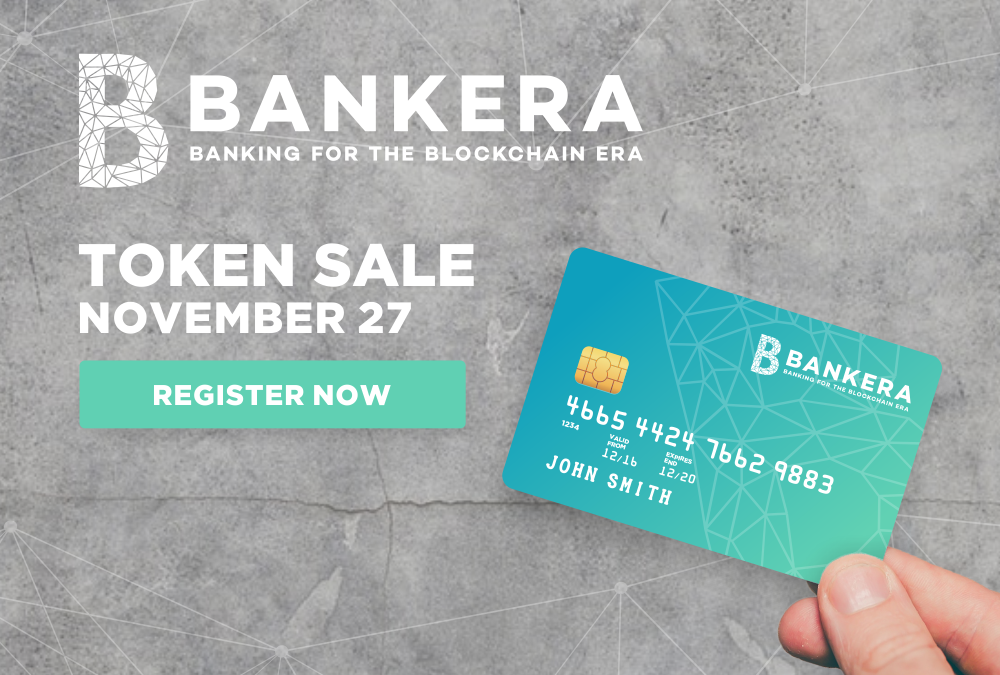 Bankera ICO is Now Live: Be Part of the Banking Revolution