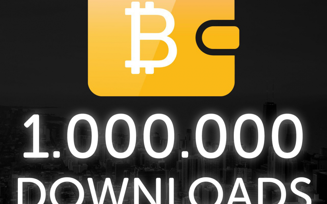 Leading Bitcoin Wallet Provider Bitcoin.com Celebrates 1 Million Downloads, In First 5 Months