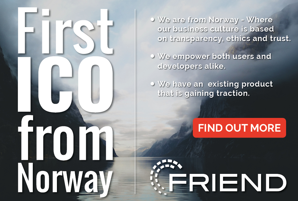FriendUp — First TGE From Norway Where Transparency and Trust are Abundant