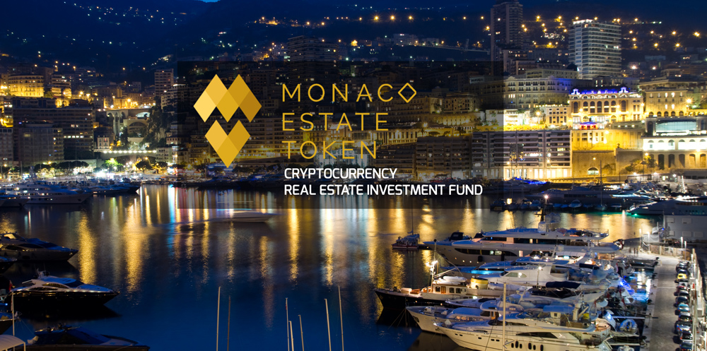 Monaco Estate to Launch the First Cryptocurrency Real Estate Investment fund. Presale Begins May 1st, 2018