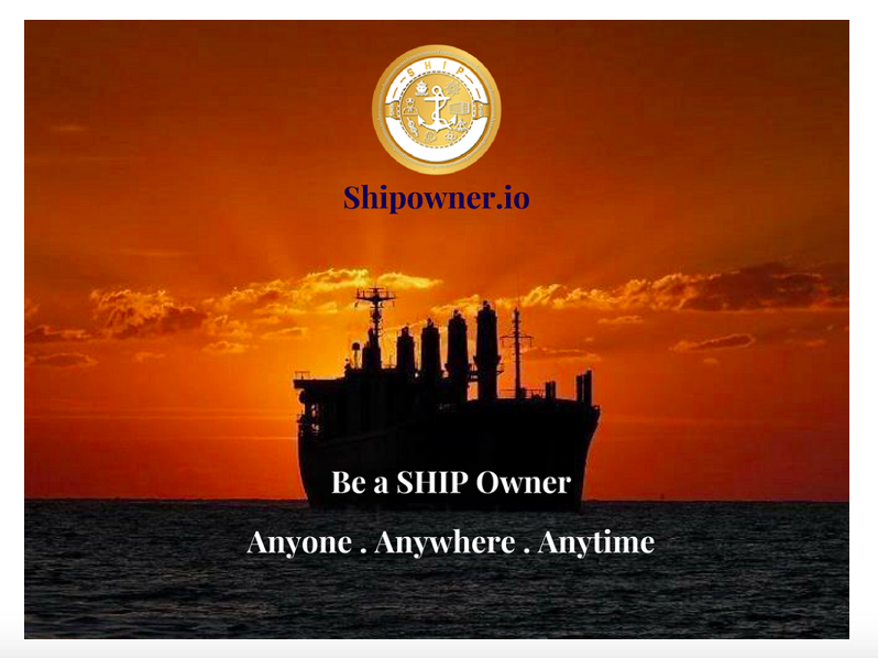Shipowner.io Revolutionizes Ownership of Marine Assets and Services Using Cutting-Edge Blockchain Technology