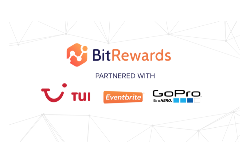 BitRewards Announces Partnerships With TUI, Eventbrite and GoPro