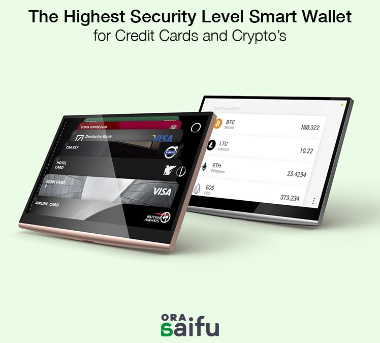 A Cutting-Edge Multi-Cryptocurrency Hardware Crypto-Wallet from OraSaifu is About to Hit the Global Market