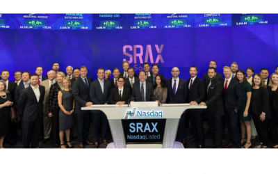 SRAX Declares Right to Receive BIGToken Security and Sets Record Date for September 17, 2018