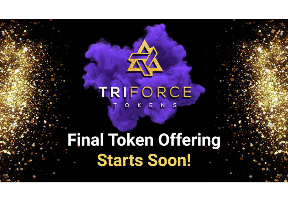 Leading Gaming Startup TriForce Tokens Prepares for Final Token Offering, Following Successful Year