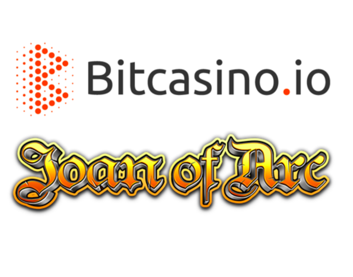Bitcasino.io secures Joan of Arc exclusivity deal