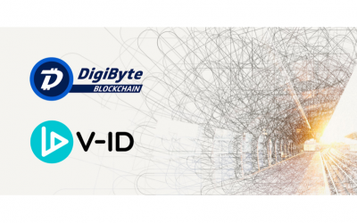 Digital file security boosted by V-ID and DigiByte: Real world adoption of blockchain technology