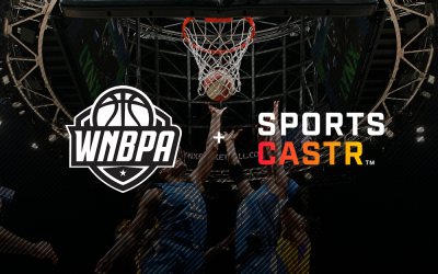 SportsCastr Partners with WNBPA to Power Live Interactive Video Content for Fans