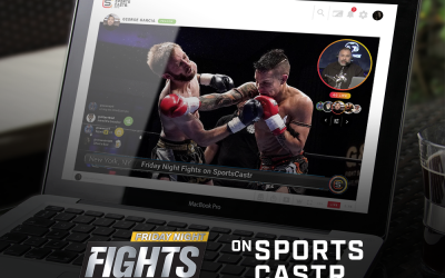 SportsCastr Expands to MMA with Exclusive Friday Night Fights Streaming Deal