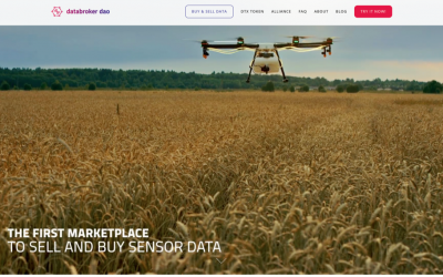 DataBroker DAO Launches Flagship IoT Sensor Data Marketplace Ahead of International Expos